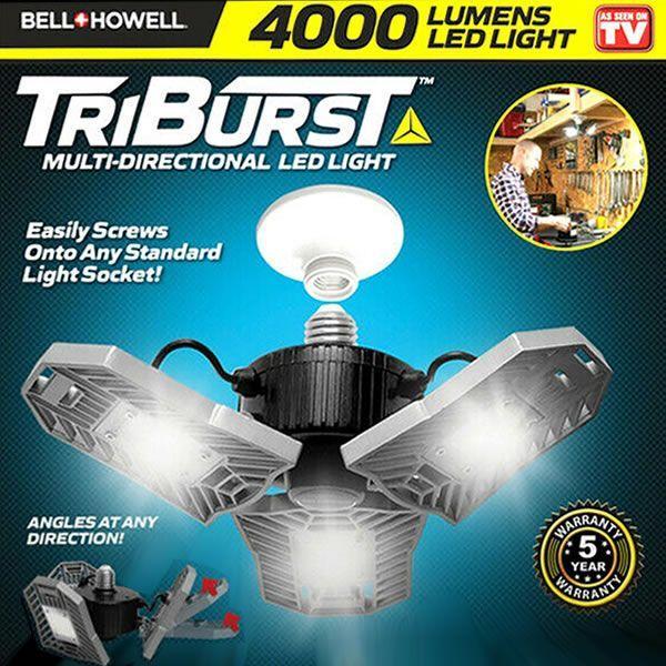 Triburst Triple LED Light