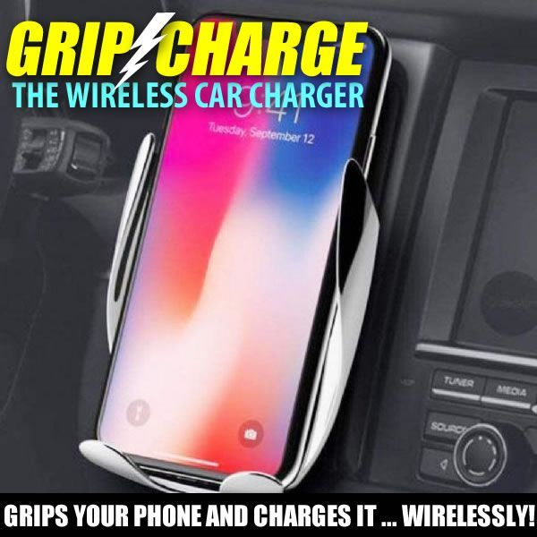 GripCharge Wireless Car Charger