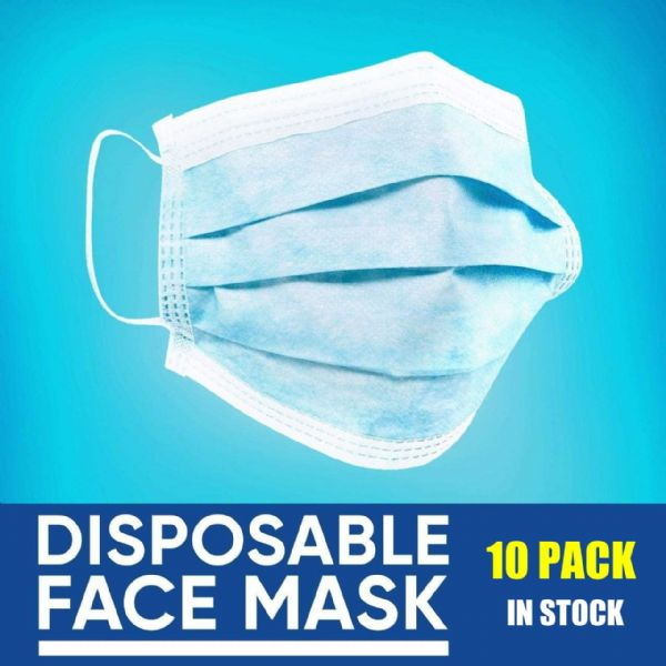 Disposable 3 Layer Face Masks