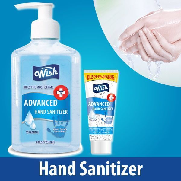 Hand Sanitizer With Vitamin E