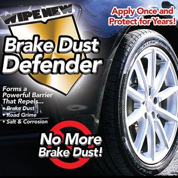 Wipe New Brake Dust Defender